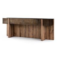 Four Hands Bingham Console Table - Rustic Oak