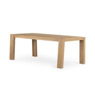 Four Hands Capra Dining Table - Light Oak Resin