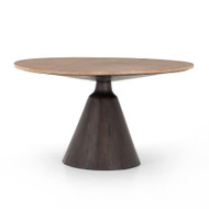 Four Hands Bronx Dining Table - Light Brushed Parawood