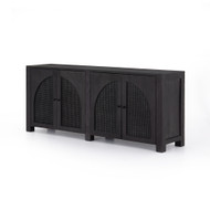 Four Hands Tilda Sideboard - Black Wash Mango