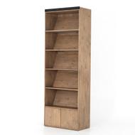 Four Hands Bane Bookshelf - Bookshelf - Smoked Pine