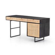 Four Hands Carmel Desk - Black Wash