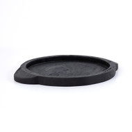 Four Hands Tadeo Round Tray - Black