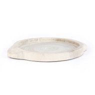 Four Hands Tadeo Round Tray - Ivory