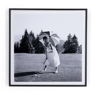 "Four Hands Golfing Hepburn By Getty Images - 40""X40"""