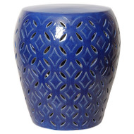 Lattice Table - Blue