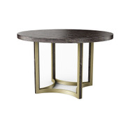 Caracole Remix Cerused Round Dining Table 48""