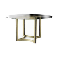 Caracole Remix Glass Top Dining Table 54""