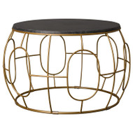 Oto Coffee Table - Gold