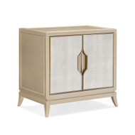 Caracole Adela Nightstand - Blush Taupe