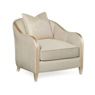 Caracole Adela Chair - Oyster Velvet