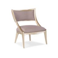 Caracole Adela Chair - Lavender Linen