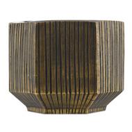 Currey & Co Bavi Brass Small Vase (Store)