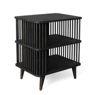 Arbor Three Tier Side Table - Smoke