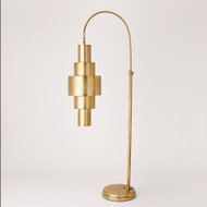 Babylon Floor Lamp - Antique Brass