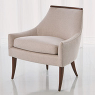 Boomerang Chair - Muslin