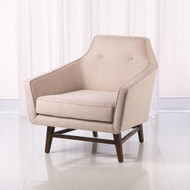 Edward Lounge Chair - Muslin