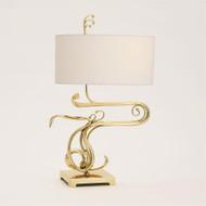 Fete Table Lamp - Brass