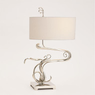 Fete Table Lamp - Nickel