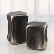 Formation Accent Table - Black/Platinum - Lg