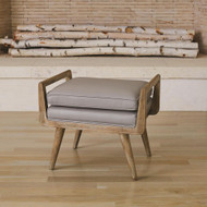 Lucas Short Bench - Muslin