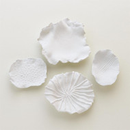 Maitake Wall Decor - Criss Cross - Soft White