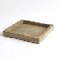 Marble Tray - Antiqued White