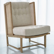 Palm Desert Wing Chair - Muslin