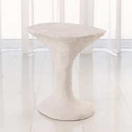 Primitive Accent Table - Soft White