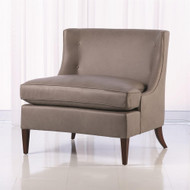 Severn Lounge Chair - Grey Leather