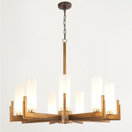 Stoic Chandelier - Ombre Brass