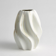 Twist Vase - Ivory