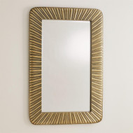 Valencia Mirror - Antique Brass