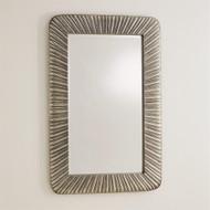Valencia Mirror - Antique Nickel