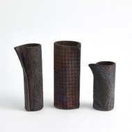 Wrapped Vase - Rust - Lg