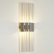 Acrylic Sconce - Nickel - HW