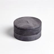 Alabaster Swivel Box - Grey