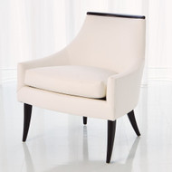 Boomerang Chair - Ebony - Muslin