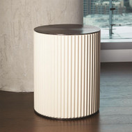 Camille Side Table - Bronze