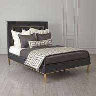 Ellipse Queen Bed - Black