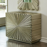 Linenfold Two - Drawer Chest - Silver
