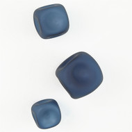 S/3 Wall Rocks - Frosted Blue