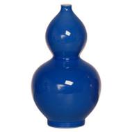 Gourd Vase - Blue - Small