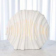 Striated Lamp - Matte White