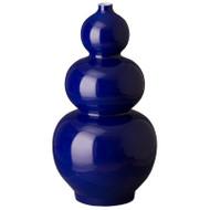 Triple Gourd Vase - Emperor Blue
