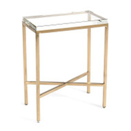 Glass Block Side Table - Large