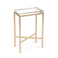Glass Block Side Table - Small