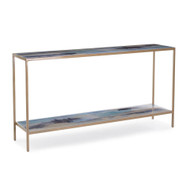 Susan Godwin's Miles Apart Sofa Table with Shelf