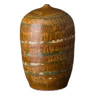 Cocoon Vase - Nutshell Brown - Large