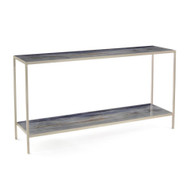 Shaye Rawson's Spring Rain Sofa Table with Shelf